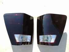 CUSTOM! 05-06 Jeep Grand Cherokee Smoked OEM Tail Lights  Black Non led Tinted