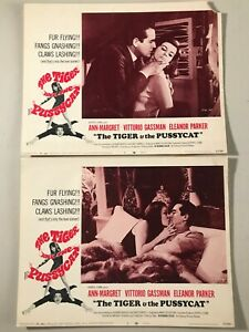 2 Original Lobby Cards 11x14: The Tiger and the Pussycat (1967) Ann-Margaret