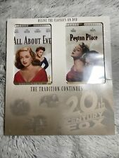 20th Century Fox Fox Studios Classics 2 Pack All About Eve Peyton Place Rare Htf