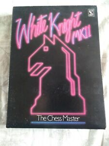 WHITE KNIGHT MKII: THE CHESS MASTER - ACORN BBC B MICRO CASSETTE TAPE BOXED SOFT