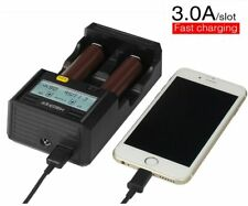 Miboxer C2-6000 Smart Charger for Li-Ion 18650 26650 18500 NiMh/Ni-Cd A AA AAA D