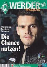 Werder Magazin + 14.02.2009 + Bremen vs. Borussia Mönchengladbach + AC Mailand +