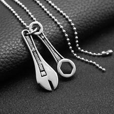 Anhänger + Halskette Unisex Mode Hals Schmuck Geschenk für Vatertag, Freund