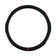 Gauss lux M luxury steering wheel covers White  370 mm small safety Gift fit all