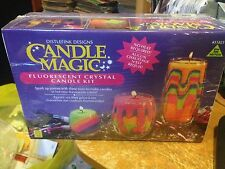 Candle Magic- Fluorescent Crystal Candle Kit-New