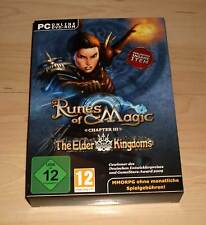Gioco COMPUTER PC GAME GIOCO-Runes of Magic-THE ELDER piattaforma-NUOVO OVP