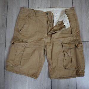 Levis Cargo Shorts Khaki Beige W36