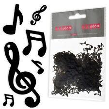 Konfetti Musik-Noten, schwarz,20g,Kunststoff