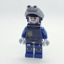 LEGO il film ROBO SWAT Robot con Cappuccio e Collo STAFFA minifigura FIG