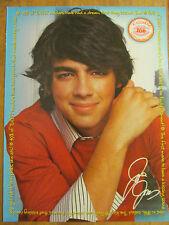 Joe Jonas, The Jonas Brothers, Full Page Pinup