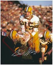 8.5x11 Autographed Signed Reprint RP Photo Bart Starr Green Bay Packers