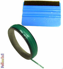 1,39€/m 10 mx 3mm Knifeless Tape Car Wrapping Schneidetape + 3M Rakel mit Filz