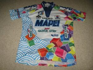 "Mapei Quick-Step Sportful Italian cycling jersey [42""] 1994"