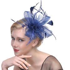 Women's Hair Clips Feather Hats Veil Wedding Hat Net Hair Fascinators Cocktail
