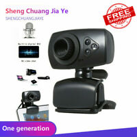 Full HD 50MP USB 2.0 Webcam 3 LED Video Camera with Microphone for PC Laptop