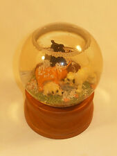 LL BEAN Maine Hunting Boot With Dogs Snow Globe from Midwest of Cannon Falls