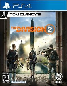 Tom Clancy's The Division 2 PlayStation 4 and Xbox One Standard Edition Sealed