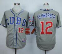 Chicago Cubs #12 Kyle Schwarber Jersey