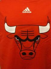 New Minor Flaw Chicago Bulls Adidas Youth Small S 8 Red Shirt