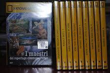 NATIONAL GROGRAPHIC GEDEA DE AGOSTINI  10 DVD NUOVI!!!