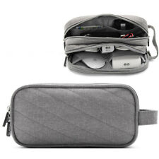 Electronic Organizer Travel Storage Bag USB Cable Data Accessories Pouch Case