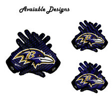 American Los Angeles Rams Team NFL Football Gloves With Glue Grip