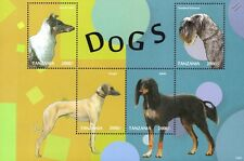Dog Stamp Sheet (Scottish Collie/Standard Schnauzer/Saluki/Sloughi)