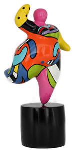 Dolly Figur medium -Hommage an Niki de Saint Phalle- Nana Molly dicke Frau 20626