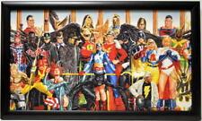 JUSTICE SOCIETY Of AMERICA - GENERATIONS Framed PRINT Alex Ross art