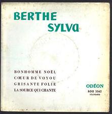BONHOMME NOEL, COEUR DE VOYOU - GRISANTE FOLIE, LA SOURCE QUI CHANTE # B. SYLVA