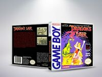 Dragon's Lair - GB - Replacement Cover / Case (NO Game)