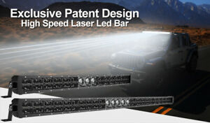 """2021NEWEST 22"""" Exclusive Patent Laser Led Light Bar for Offroad 4x4 Pickup Truck"""