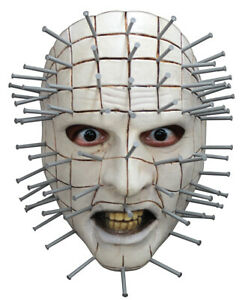 ADULT HELLRAISER III PINHEAD FACE MASK COSTUME DRESS OFFICIALLY LICENSED TB10105