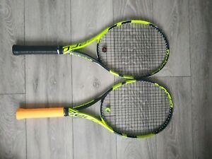 Tennis racket ( Babolat pure aero ) 2 racket, both have new grips and strings.