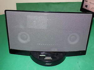 Bose Sound Dock Digital Music System Ipod Dock Black Working unit only