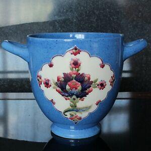 William Moorcroft Large Handled Vase with Persian Designed Panels, Signed