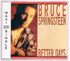 BRUCE SPRINGSTEEN BETTER DAYS  CD SINGOLO cds MAXI SINGLE COME NUOVO!!!