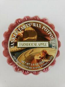 Yankee Candle Farmhouse Apple Tart Wax Potpourri Vintage Rare Retired HTF