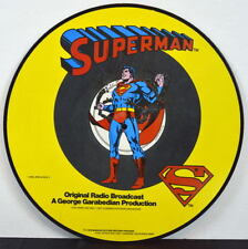 SUPERMAN LTD ED PICTURE LP RECORD Original Radio Broadcast Ep 1-4 1978