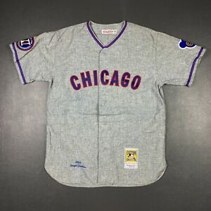100% Authentic Fergie Jenkins Mitchell Ness 1968 Chicago Cubs Jersey Size 44 L