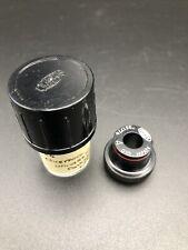 Vintage OLYMPUS TOKYO Microscopio Objetivo Lente x4 010