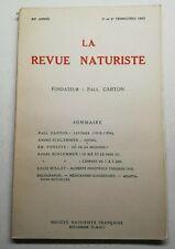 #2 La Revue naturiste 24 Année 3 et 4 trimestre 1953 Lettre justice médecine