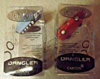 Two Captain Scarlet small Windows Danglers. Carlton SPV & Patrol Car.
