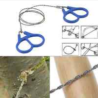 Hiking Camping Essential Wire Saw Emergency Travel Survival Gear Stainless Steel