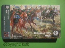 NEU 1:72 Waterloo1815 #042 WKI Italien Kavallerie WWI Italian Cavalry Figuren