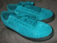 New Nike SB Zoom Blazer Low Geode Teal Green Black Skateboard Skate Shoes 864347