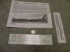 Flight Path decals 1/144 Fp44-221 Royal Brunei Current Fokker F100 Box 13