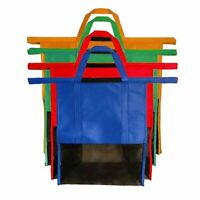 Supermarket Shopping Cart Bag Insulation Non-woven Bag Trolley Storage Bag-%