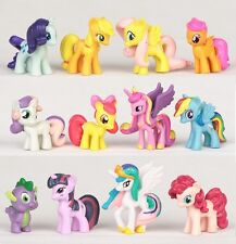 My Little Pony Rainbow Dash Playset 12 Figure Cake Topper * USA SELLER Toy Set