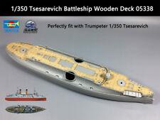 Trumpeter 1/350 Tsesarevich Battleship Wooden Deck 05338